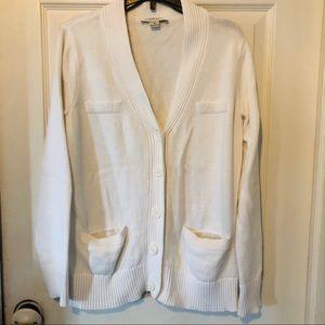 Pendleton white cardigan